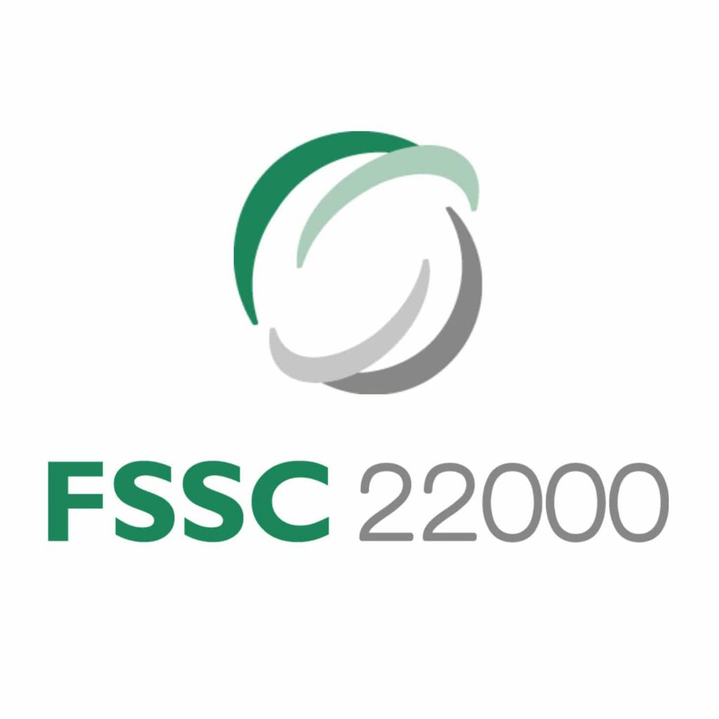 FSSC 22000 Certification - Bohemi Chemicals